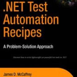 Buy PDF Books - .NET Test Automation Recipes