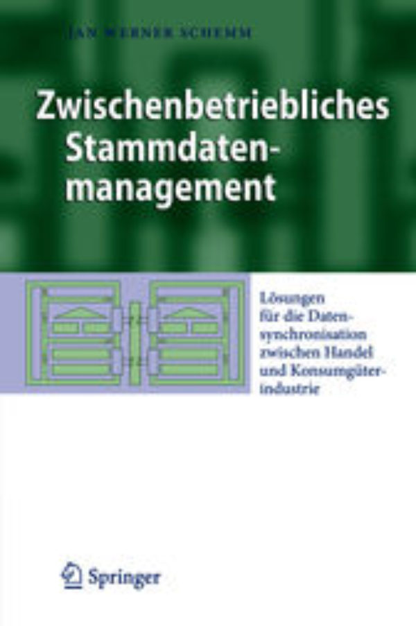 Buy PDF Books - Zwischenbetriebliches Stammdatenmanagement
